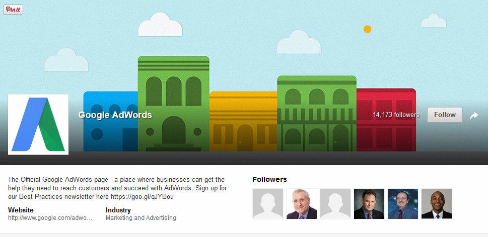 Linkedin pagina vetrina Google