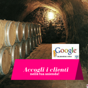 google business view per il vino e le cantine