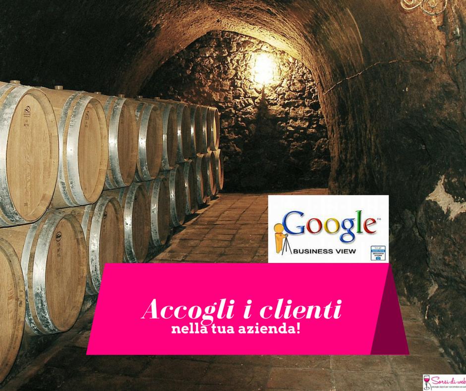 google business view per il vino e le cantine