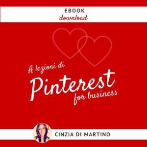 Pinterest per business Cinzia Di Martino