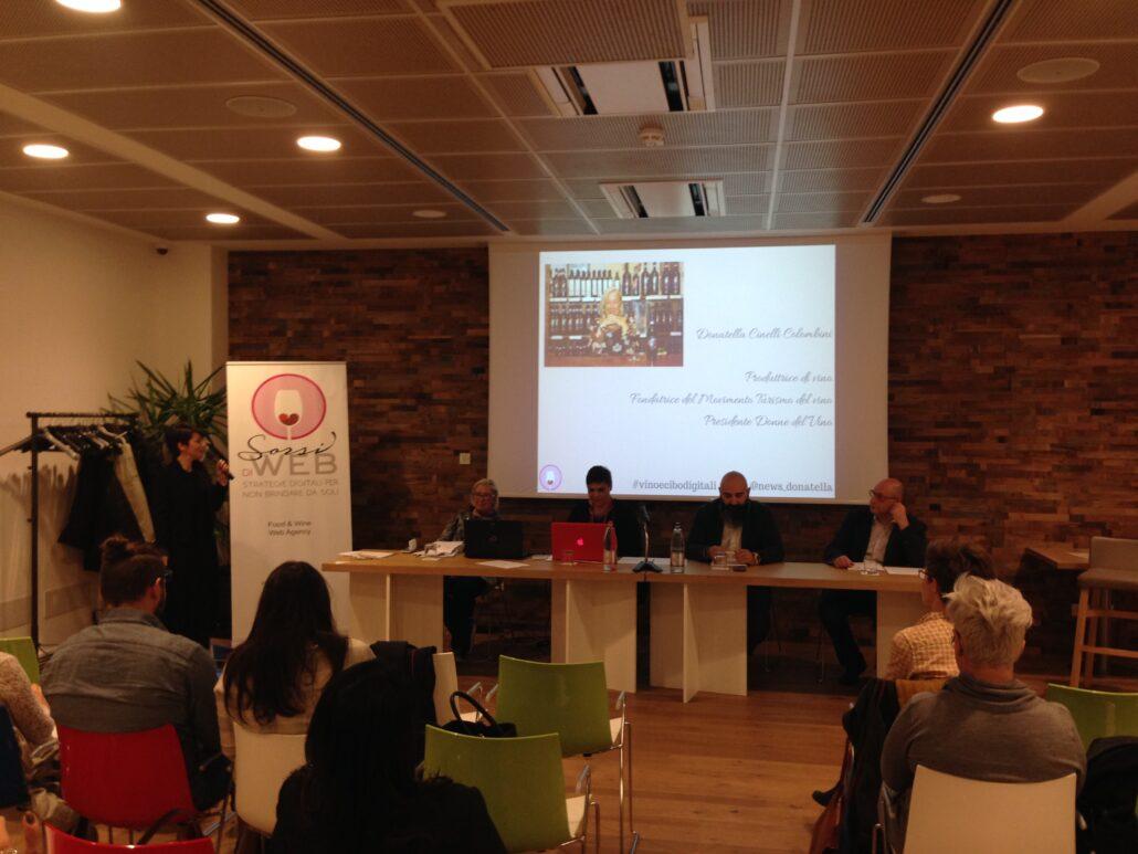 vino e cibo digitali evento