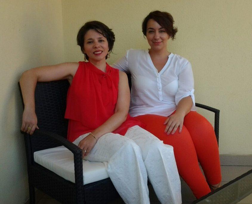 Susana Alonso e Marina Pitzoi