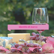 Identità di marca vino e cibo