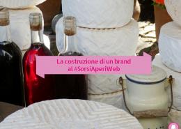 Costruzione di un brand vino e cibo