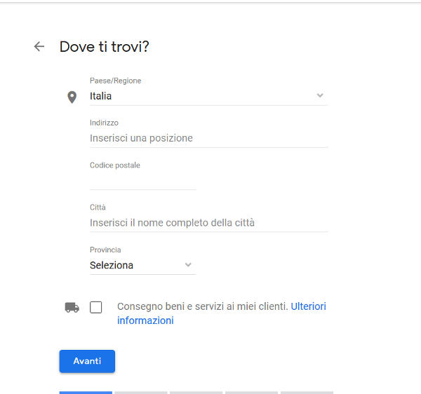 Google My Business guida 2