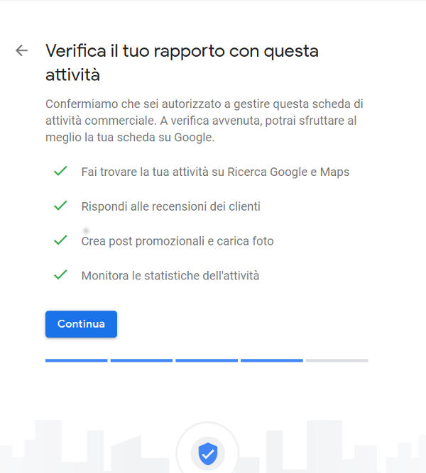 Google My Business Verifica