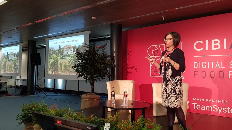 Storytelling del vino Susana Alonso al Cibiamoci
