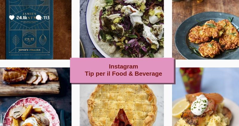 Instagram tip per il Food and Wine