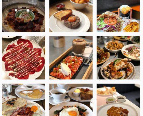 Instagram idee per ristoranti
