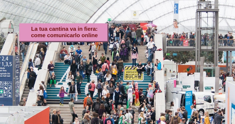 Cantina in fiera anche online