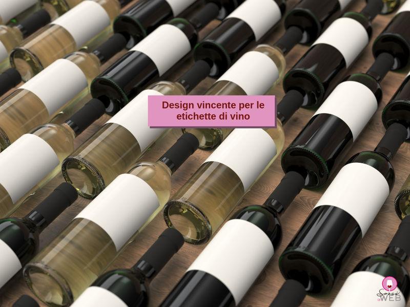design di etichette di vino