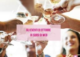 Eventi ottobre 2021 Sorsi di Web